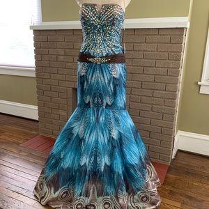 Stunning Jovani gown